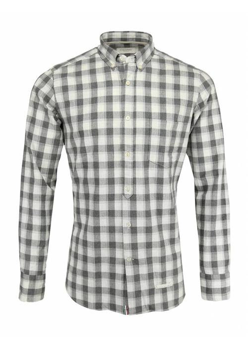 Tintoria Mattei Tintoria Mattei Shirt Grey Checkered