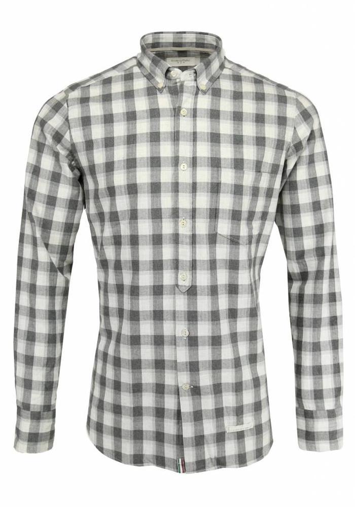 Tintoria Mattei Shirt Grey Checkered