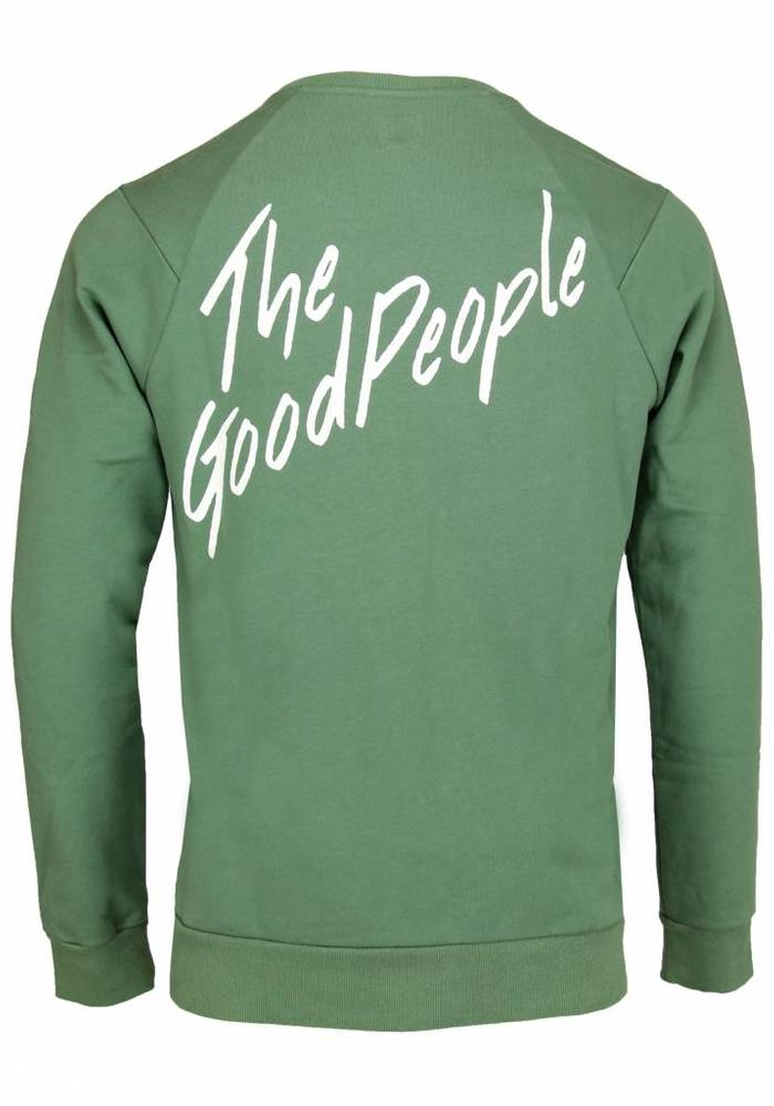 The Goodpeople Sweater Cool Green