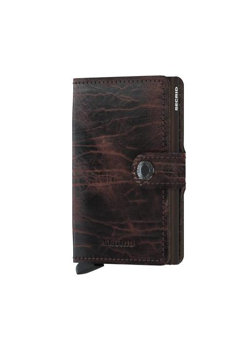 Secrid Secrid Miniwallet Dutch Martin Cacao-Brown
