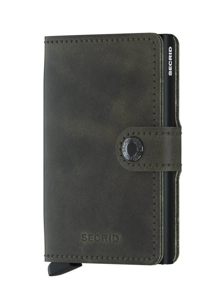 Secrid Miniwallet Vintage Olive-Black