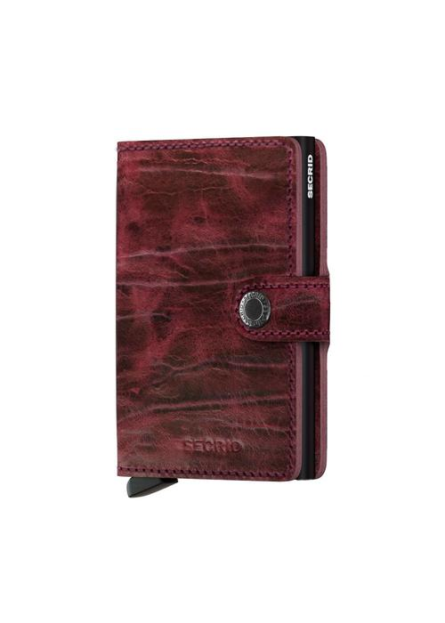 Secrid Secrid Miniwallet Dutch Martin Bordeaux