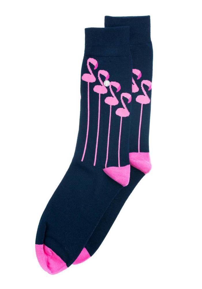 Alfredo Gonzales Socks The Flamingo
