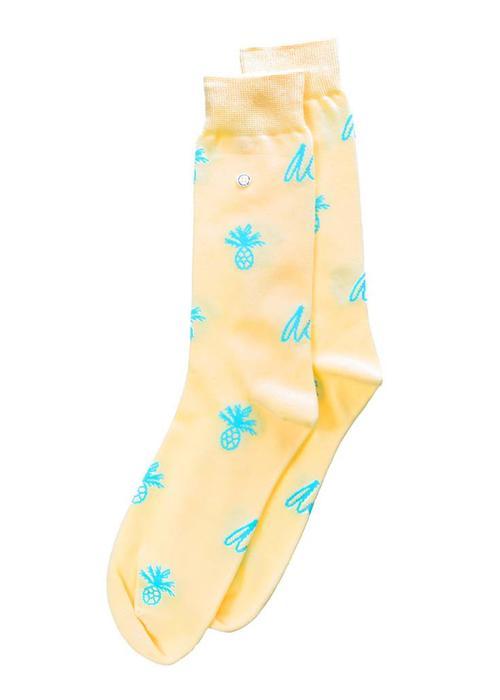 Alfredo Gonzales Alfredo Gonzales Socks Pineapple Logo