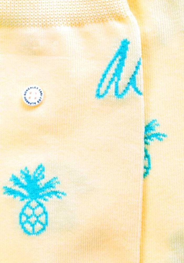 Alfredo Gonzales Socks Pineapple Logo