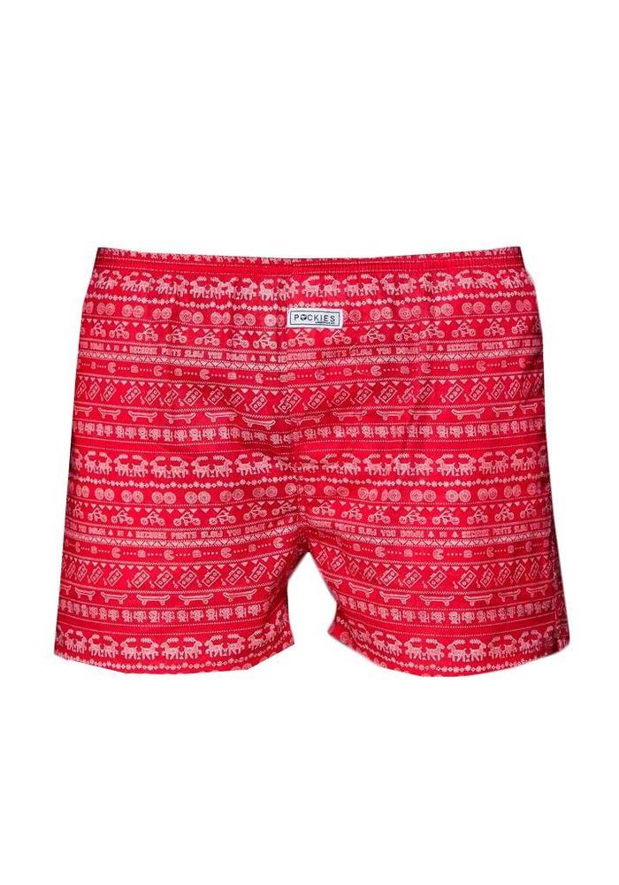 Pockies Underwear Boxer Holiday Special