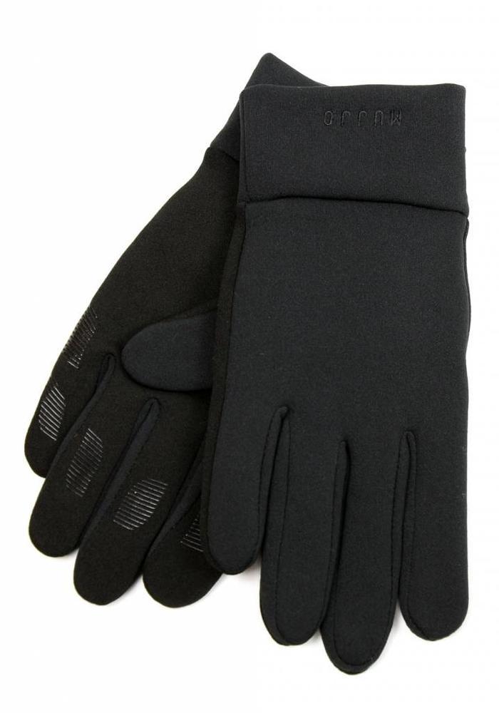 Mujjo Touchscreen Handschoenen Neopreen Black