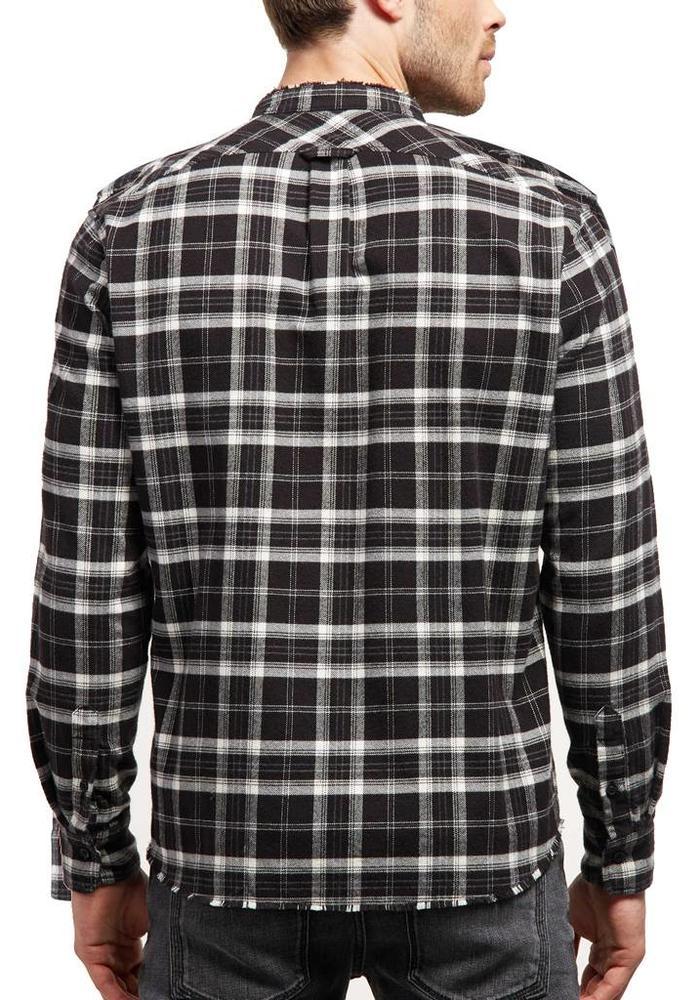 Drykorn Donny Shirt Black / White Checkered
