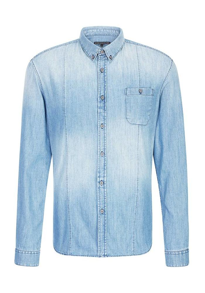 Drykorn Shirt Alex Light Denim