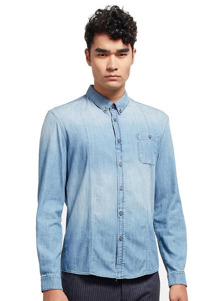 Drykorn Overhemd Alex Light Denim