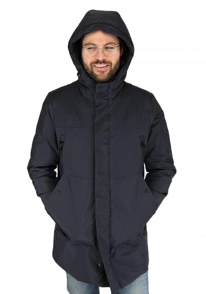 Hox Winter Coat XU3312 Carbon Black