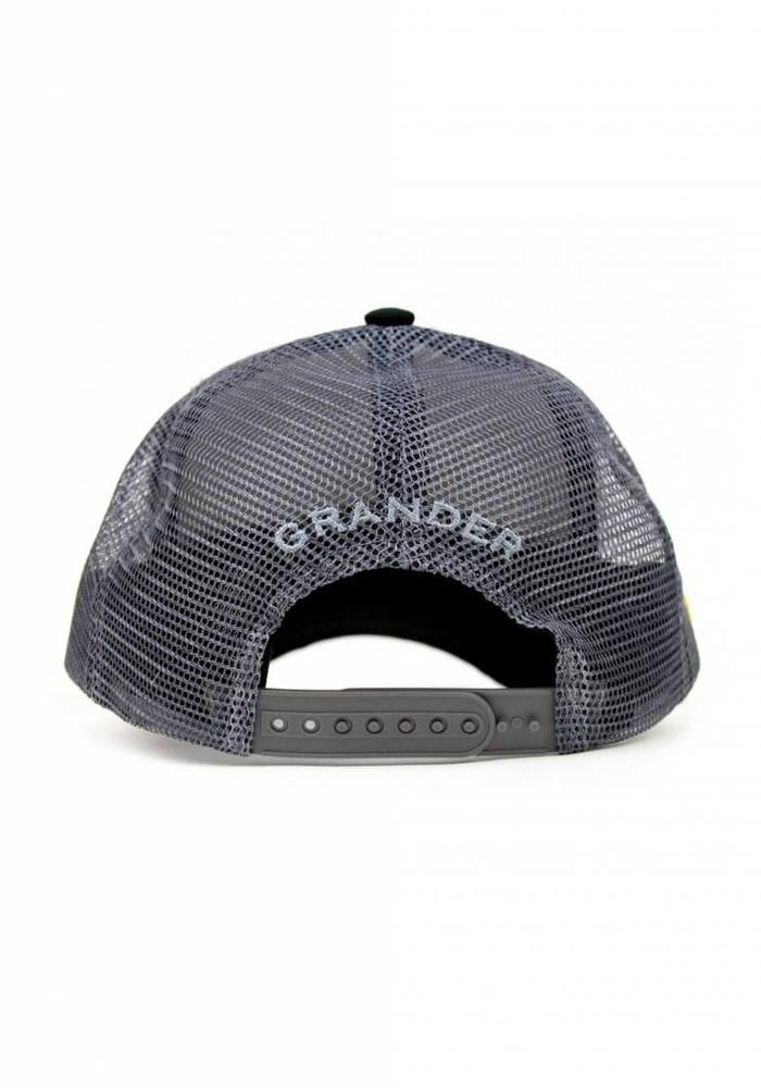 Grander Trucker Cap Take The Bait Black