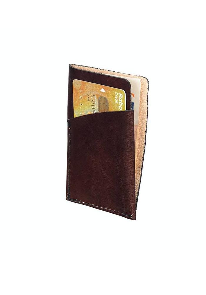 Mutsaers The Bunt Wallet Dark Brown