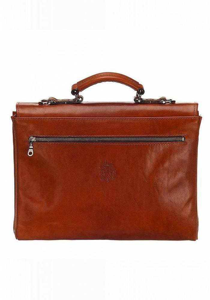 Mutsaers The Walker Leather Bag Cognac