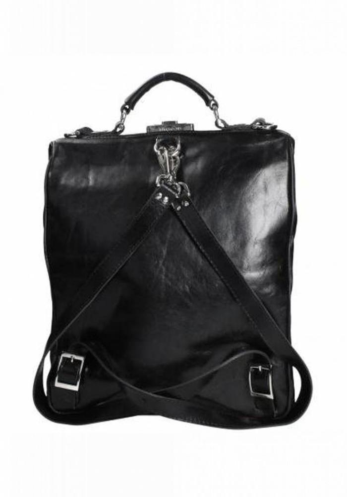 Mutsaers On The Bag Leren Rugzak Zwart