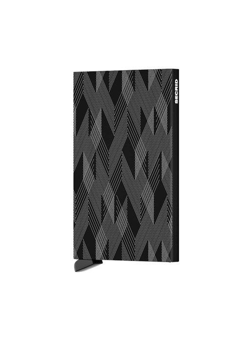 Secrid Secrid Cardprotector Laser Zigzag Black