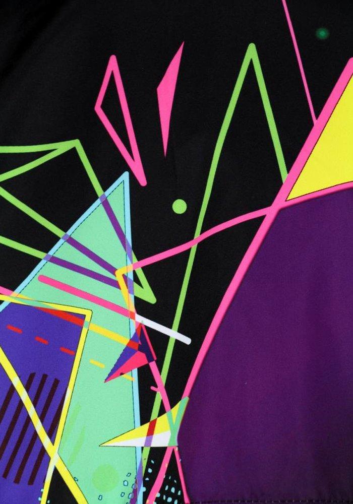 Australian Hard-Court Jacket Kaleido Smash Black Multicolor