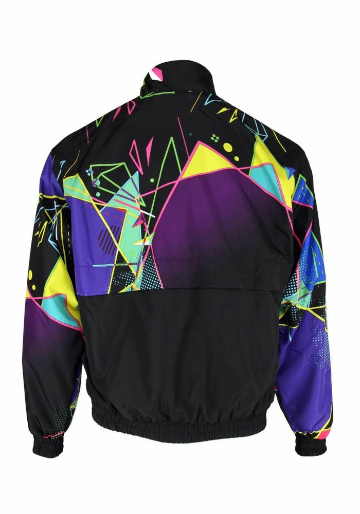 Australian Hard-Court Jack Kaleido Smash Zwart Multicolor