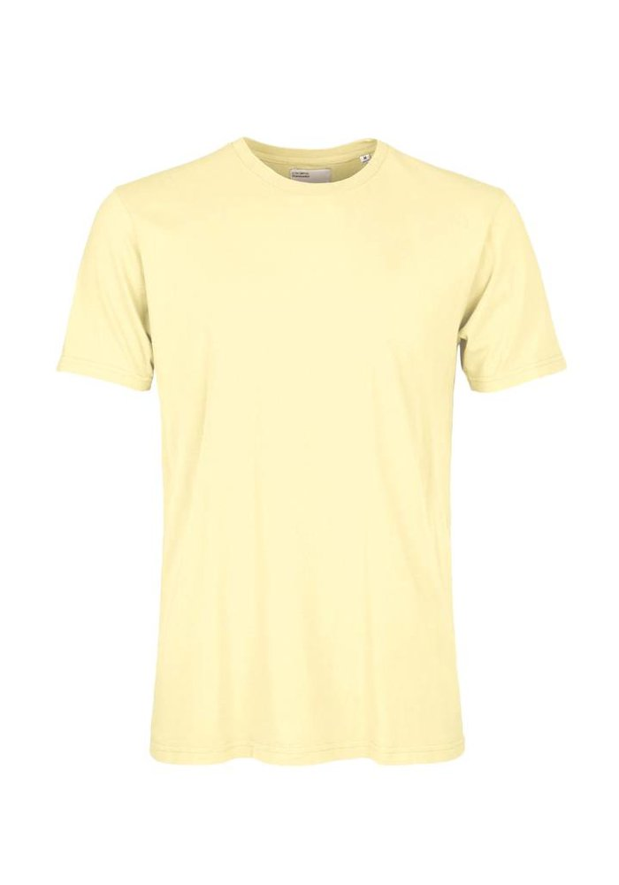 Colorful Standard Classic Organic T-Shirt Soft Yellow