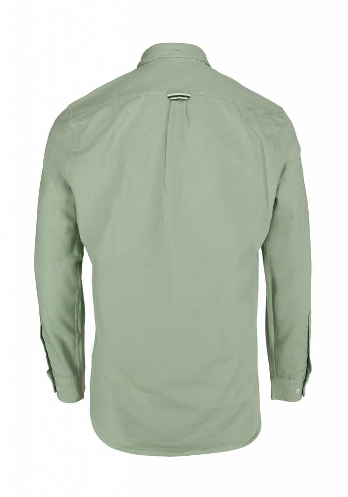 Forét Bear Canvas Shirt Sage Green