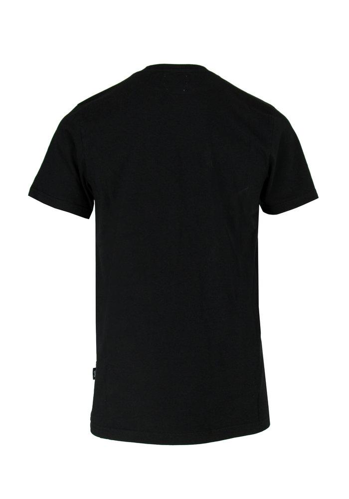 Forét T-Shirt Oak Sage Black