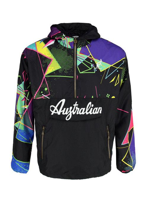 Australian Australian Anorak Smash Black Multicolor
