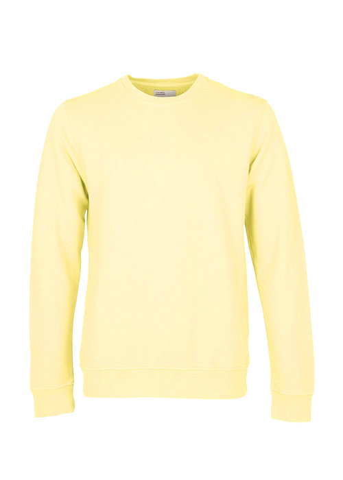 Colorful Standard Colorful Standard Organic Sweater Soft Yellow