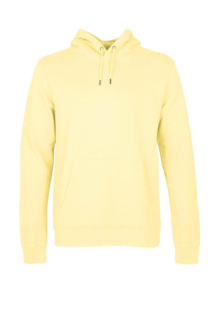 Colorful Standard Organic Hoodie Soft Yellow