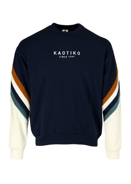 Kaotiko Kaotiko Sweater Walker Navy