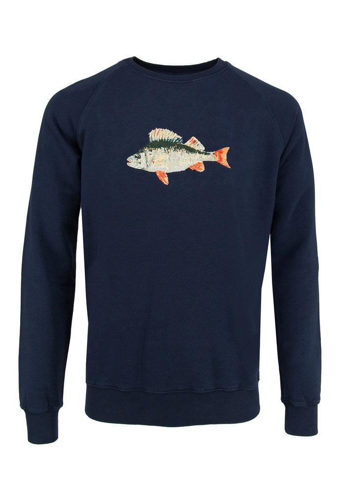 Forét Bait Sweater Navy