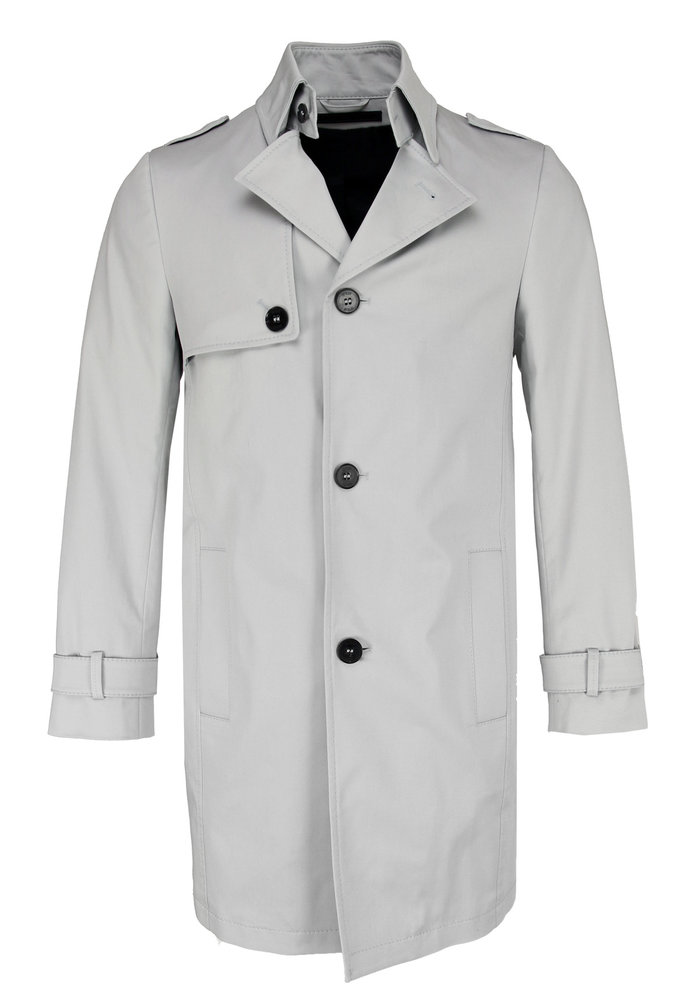 Drykorn Coat Skopje Light Grey