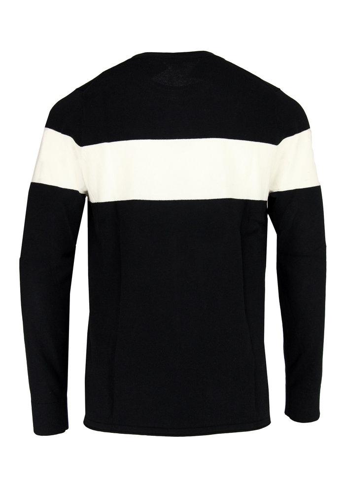 Drykorn Pullover Black/White