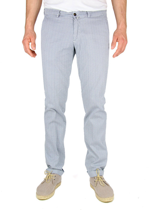 Four.Ten Industry Four.Ten Industry Chino T9080 Slim Wit /Blauw