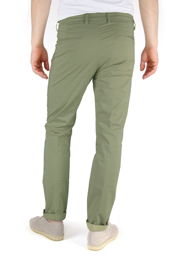 Four.ten Chino T9083 Slim Olive