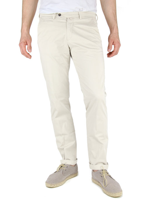 Four.Ten Industry Four.ten Chino T9084 Regular Slim Ecru