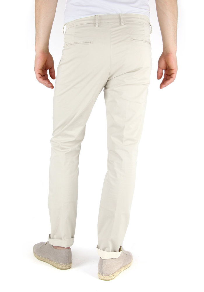 Four.ten Chino T9084 Regular Slim Ecru