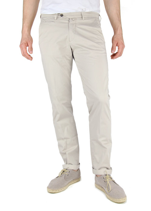 Four.Ten Industry Four.ten Chino T9083 Slim Greige