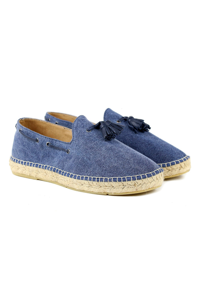 Espadrij L'originale Loafer Louis Navy