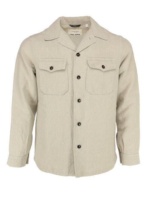 Tintoria Mattei Tintoria Mattei Shirt Japanese Military Cotton Olive