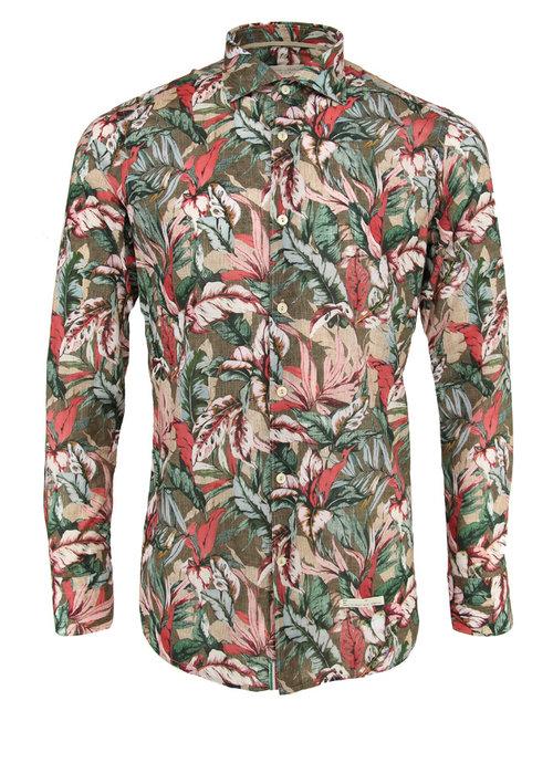 Tintoria Mattei Tintoria Mattei Shirt Green Floral
