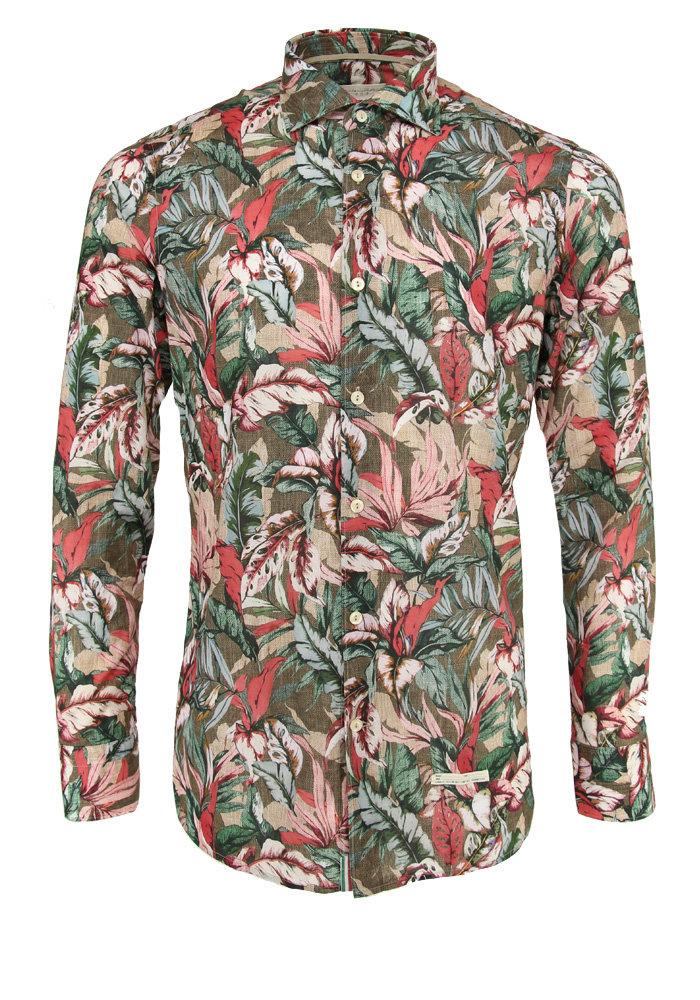 Tintoria Mattei Shirt Green Floral