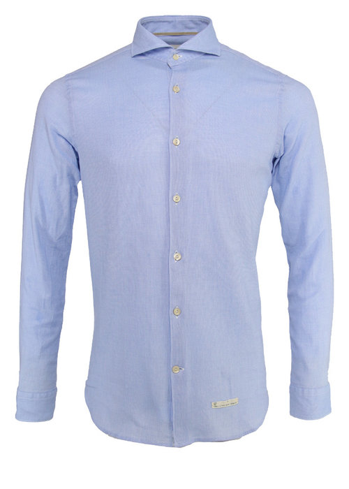 Tintoria Mattei Tintoria Mattei Shirt Oxford Light Blue