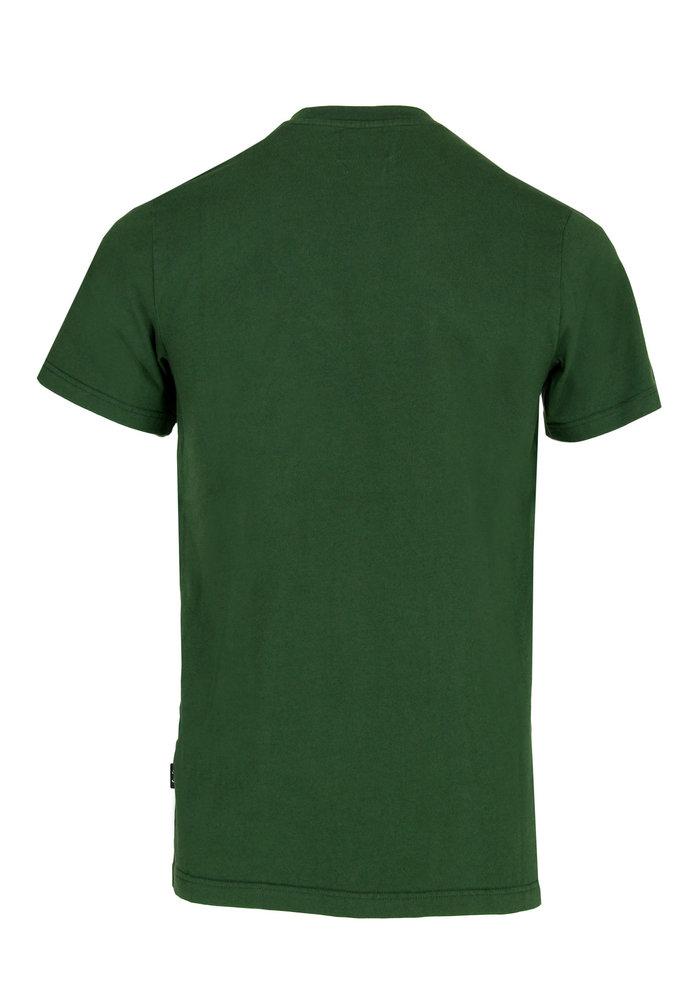 Forét T-Shirt Log Dark Green