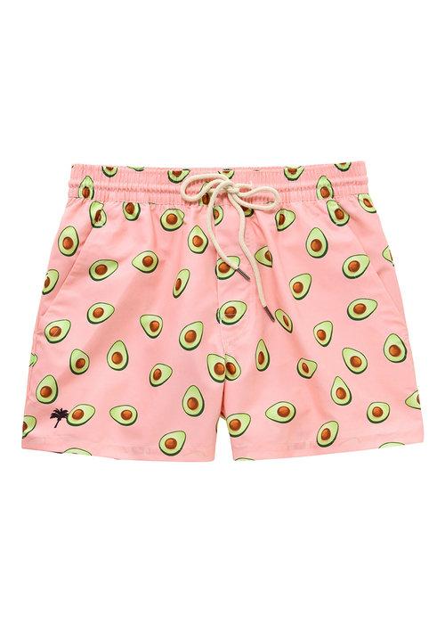 OAS OAS Swim Short Pink Avocado