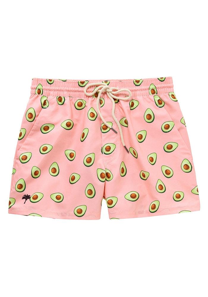 OAS Swim Short Pink Avocado