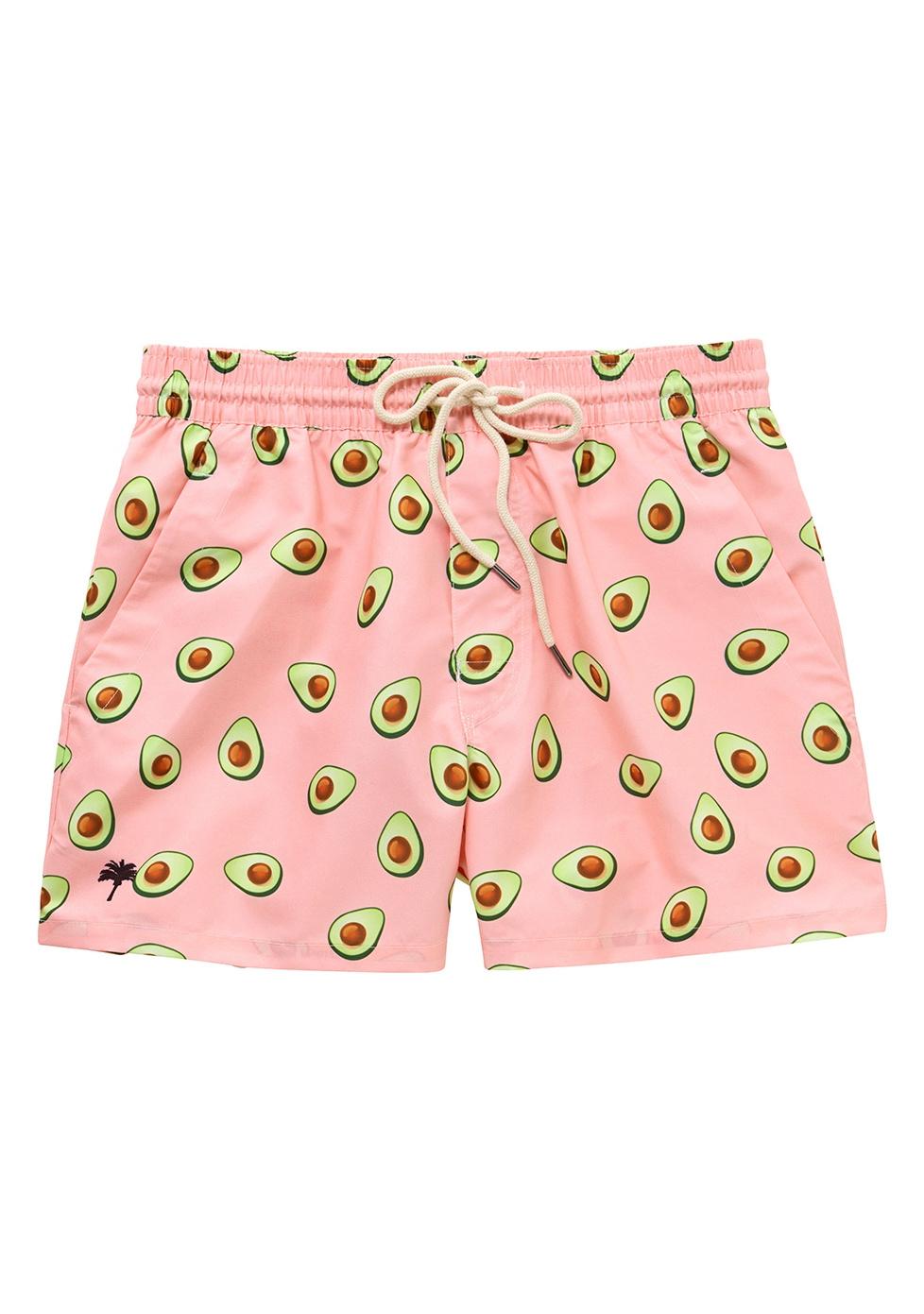 c404760a91 OAS OAS Swim Short Pink Avocado - Les Deux Frères