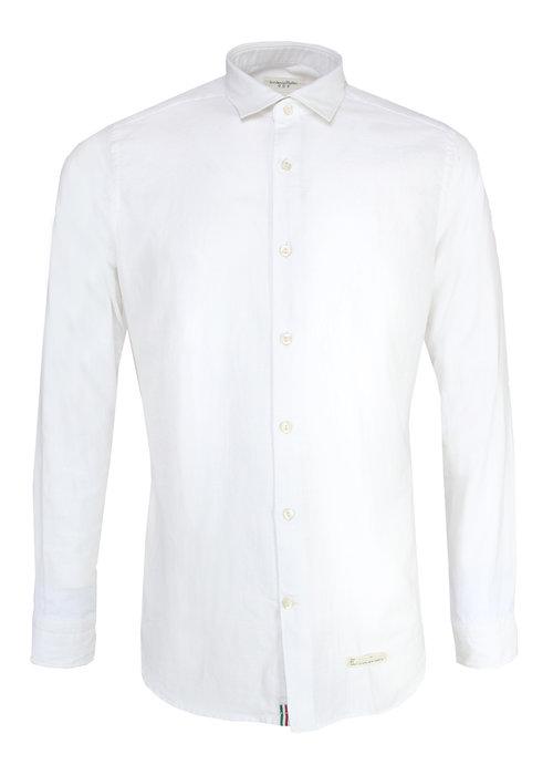 Tintoria Mattei Tintoria Mattei Overhemd Wit