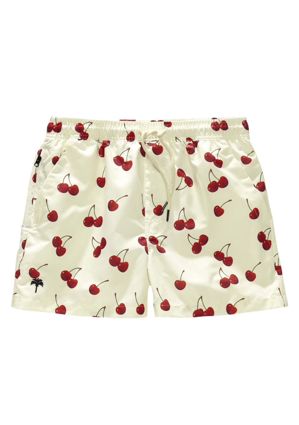 Zwembroek Kort Model.Oas Swim Short Cherry Cream Les Deux Freres