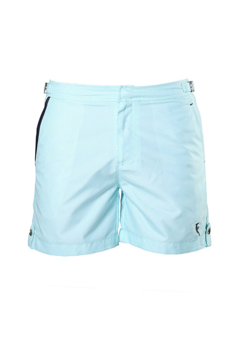 Sanwin Beachwear Sanwin Beachwear Zwembroek Tampa Stripes Light Blue