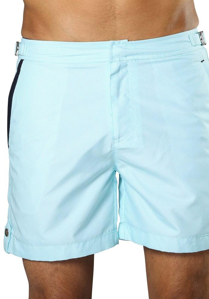 Sanwin Beachwear Swimming trunks Tampa Stripes Light Blue